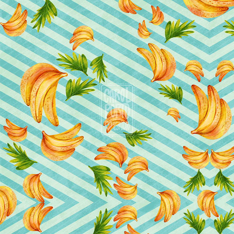 Estampa Banana Amarela